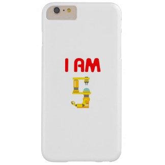 Coque iPhone 6 Plus Barely There Je suis anniversaire 2012 d'évolution de 5 robots