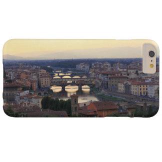 Coque iPhone 6 Plus Barely There La rivière de l'Arno et le Ponte Vecchio à