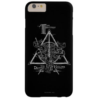 Coque iPhone 6 Plus Barely There Le charme | de Harry Potter DE MORT SANCTIFIE le