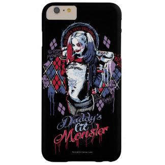 Coque iPhone 6 Plus Barely There Le peloton de suicide | Harley Quinn a encré le
