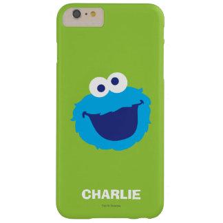 Coque iPhone 6 Plus Barely There Le visage | de monstre de biscuit ajoutent votre