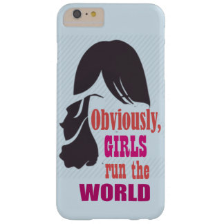 Coque iPhone 6 Plus Barely There Les filles courent la caisse mobile du monde