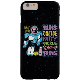 Coque iPhone 6 Plus Barely There Les titans de l'adolescence vont ! coup sec et dur