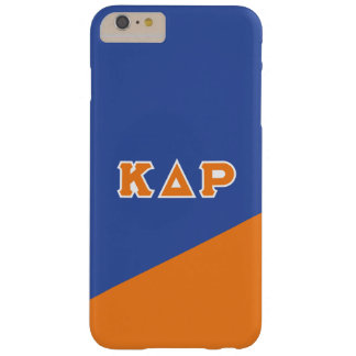 Coque iPhone 6 Plus Barely There Lettres de Grec du Rho | de delta de Kappa