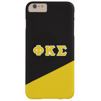 Coque iPhone 6 Plus Barely There Lettres de Grec du sigma   de Kappa de phi