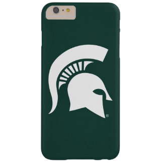 Coque iPhone 6 Plus Barely There Logo spartiate de casque d'université de l'Etat
