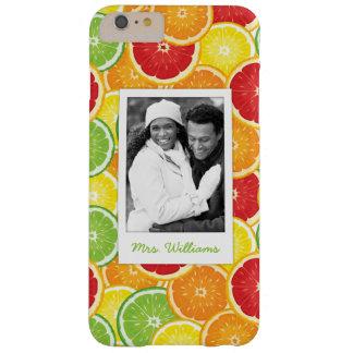 Coque iPhone 6 Plus Barely There L'orange, le pamplemousse, la chaux et le citron |