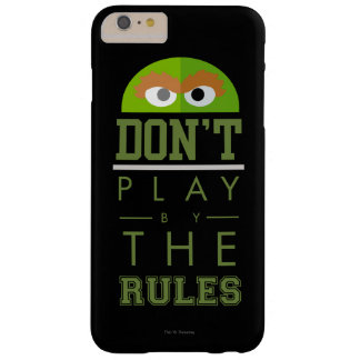 Coque iPhone 6 Plus Barely There L'oscar ne jouent pas par des règles