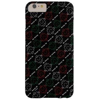 Coque iPhone 6 Plus Barely There M. Strong   motif rouge, de blanc et de vert