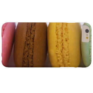 Coque iPhone 6 Plus Barely There Macarons français gastronomes importés (macarons)