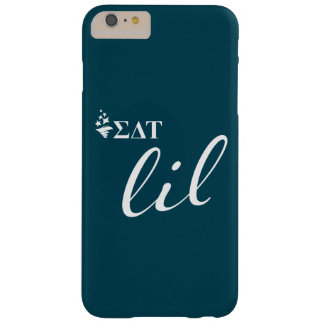 Coque iPhone 6 Plus Barely There Manuscrit de Tau | Lil de delta de sigma