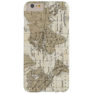 Coque iPhone 6 Plus Barely There Mappemonde
