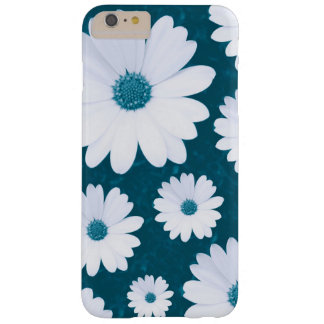 Coque iPhone 6 Plus Barely There Marguerites - Bleu