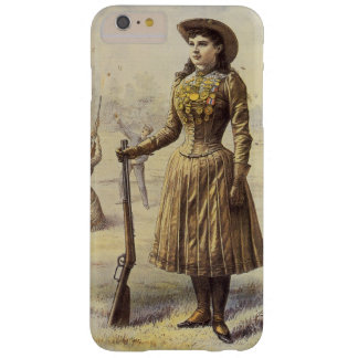 Coque iPhone 6 Plus Barely There Mlle vintage Annie Oakley, cow-girl occidentale