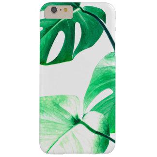 Coque iPhone 6 Plus Barely There Monstera laisse le feuillage tropical d'été