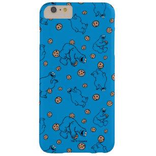 Coque iPhone 6 Plus Barely There Monstre de biscuit et motif bleu de biscuits