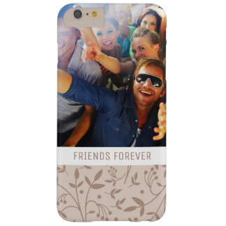 Coque iPhone 6 Plus Barely There Motif beige fait sur commande de photo et de