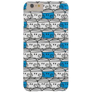 Coque iPhone 6 Plus Barely There Motif bleu de M. Bump  