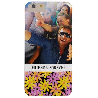 Coque iPhone 6 Plus Barely There Motif de fleurs fait sur commande de Gerbera de
