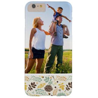 Coque iPhone 6 Plus Barely There Motif de papillon floral de photo faite sur