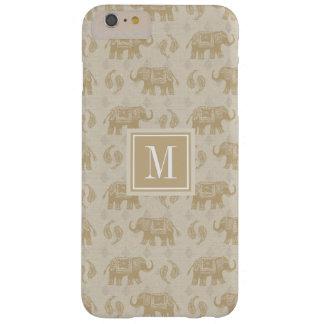 Coque iPhone 6 Plus Barely There Motif kaki de caravane d'éléphant