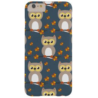 Coque iPhone 6 Plus Barely There Motif mignon de hibou d'automne