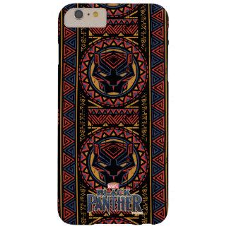 Coque iPhone 6 Plus Barely There Motif tribal de tête de panthère de la panthère