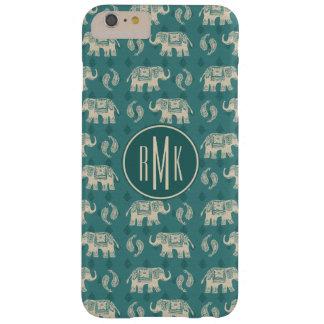 Coque iPhone 6 Plus Barely There Motif turquoise de caravane d'éléphant