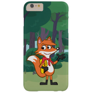 Coque iPhone 6 Plus Barely There Ondulation de Fox de Rick | Scarlett de garde