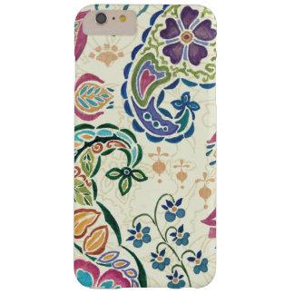 Coque iPhone 6 Plus Barely There Paon décoratif et fleurs colorées