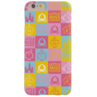 Coque iPhone 6 Plus Barely There Petit motif assez en pastel de Mlle le princesse  
