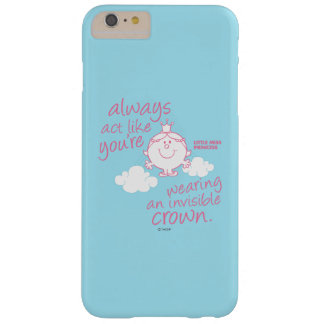 Coque iPhone 6 Plus Barely There Petite couronne invisible de Mlle le princesse |
