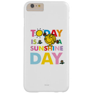 Coque iPhone 6 Plus Barely There Petite Mlle Sunshine   est aujourd'hui un jour de