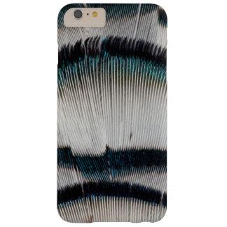 Coque iPhone 6 Plus Barely There Plumes argentées de faisan