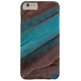 Coque iPhone 6 Plus Barely There Plumes d'aile de martin-pêcheur