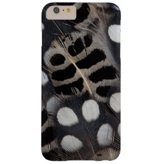 Coque iPhone 6 Plus Barely There Plumes repérées noires et blanches