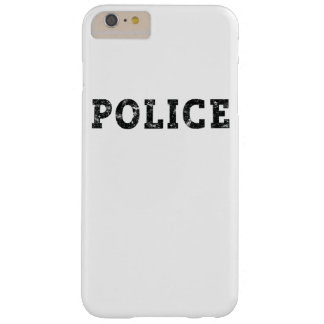 Coque iPhone 6 Plus Barely There Police