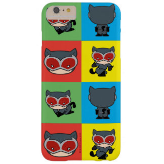 Coque iPhone 6 Plus Barely There Poses de caractère de Catwoman de Chibi