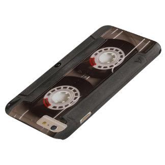 Coque iPhone 6 Plus Barely There Rétro enregistreur à cassettes frais
