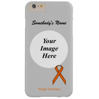 Coque iPhone 6 Plus Barely There Ruban standard orange Tmpl par Kenneth Yoncich