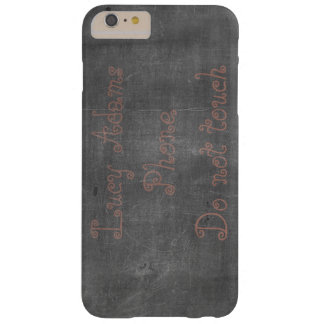 Coque iPhone 6 Plus Barely There Sa vraie craie - personnalisable