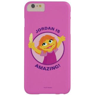 Coque iPhone 6 Plus Barely There Sesame Street | Julia tenant la plume