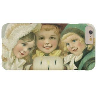 Coque iPhone 6 Plus Barely There Soeurs vintages de Noël, enfants victoriens