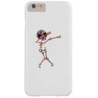Coque iPhone 6 Plus Barely There Squelette tamponnant pour l'autisme