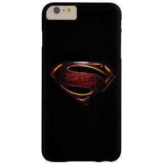 Coque iPhone 6 Plus Barely There Symbole métallique de la ligue de justice |