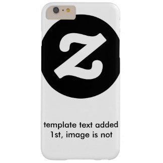 Coque iPhone 6 Plus Barely There texte de modèle aucun modèle d'image