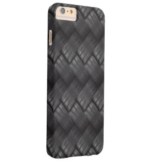 Coque iPhone 6 Plus Barely There Texture d'armure de fibre de carbone
