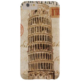 Coque iPhone 6 Plus Barely There Tour penchée vintage de Pise