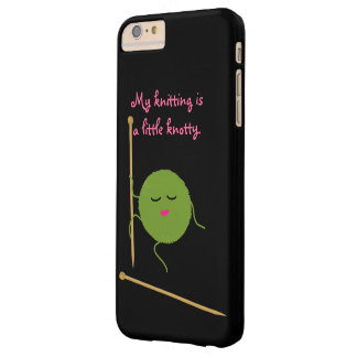 Coque iPhone 6 Plus Barely There Tricoteuse inextricable drôle