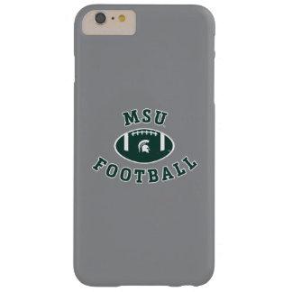 Coque iPhone 6 Plus Barely There Université de l'Etat d'État du Michigan du
